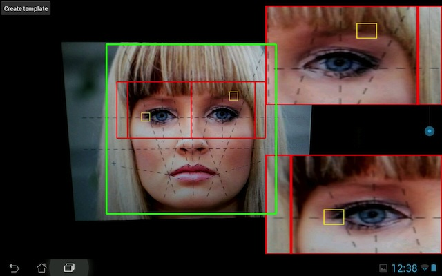Opencv Eye Tracking Android - Android eye detection and